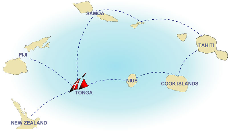 pacific cruising routes